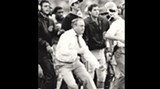 Vince Dooley on the sideline coaching the Georgia Bulldogs