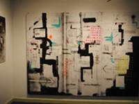Gallery Hop: The forecast called for art