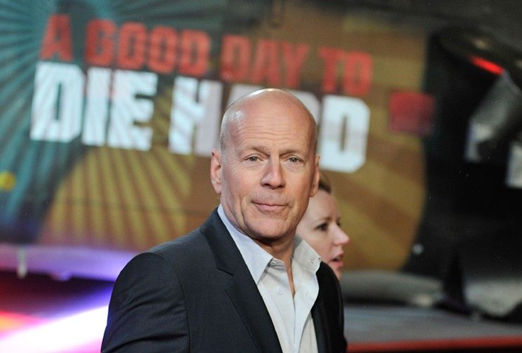 Bruce Willis says Die Hard isn't a Christmas movie. But what does he know? - GARETH CATTERMOLE/GETTY