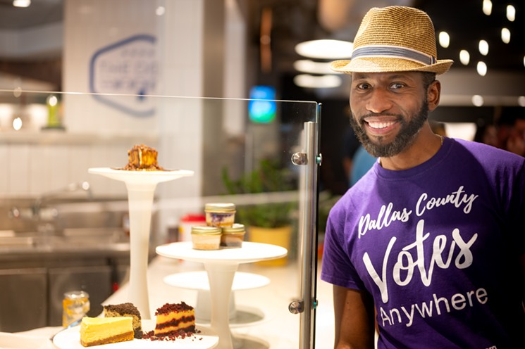 Valéry Jean-Bart of Val's Cheesecakes has struggled to not only maintain a full staff, but also a full stock of goods. - MIKE BROOKS