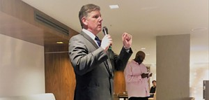 Former City Council Member David Blewett has been in a similar situation when he was elected two years. He inherited his opponents' appointees, but decided to let them ride out their terms. - JIM SCHUTZE
