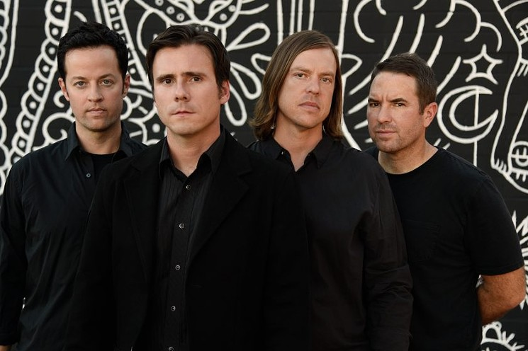 Jimmy Eat World's success with Bleed American boosted the revolution of emo pop. - COURTESY OF JIMMY EAT WORLD
