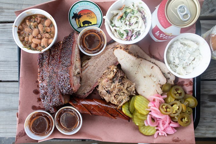 With barbecue this delicious, we can't imagine Slaughter's BBQ Oasis staying a secret for much longer. - CHRIS WOLFGANG