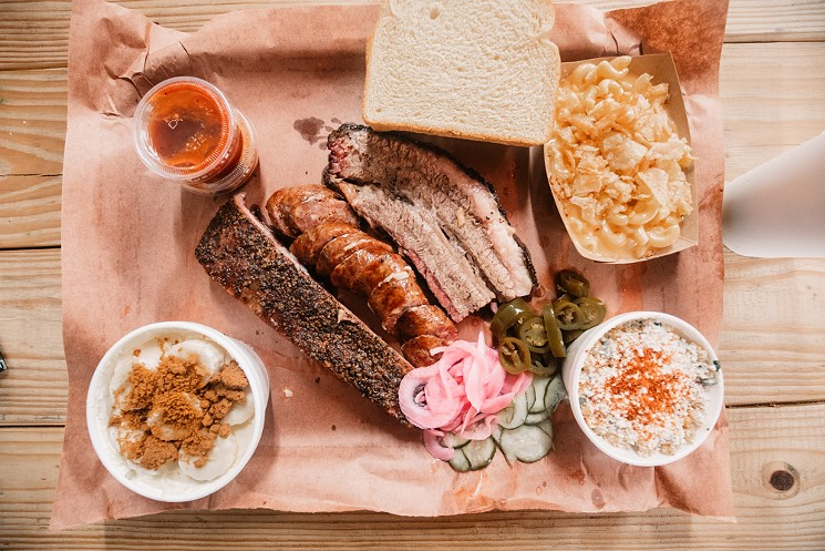 You may spend a little more time in line at Helberg Barbecue, but this is how barbecue is meant to be. - CHRIS WOLFGANG