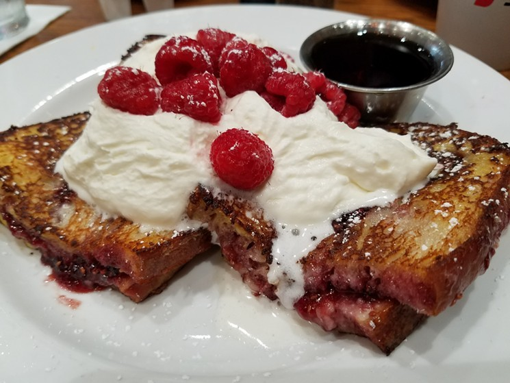The Normandy French toast at Bread Winners. - KATHRYN DEBRULER