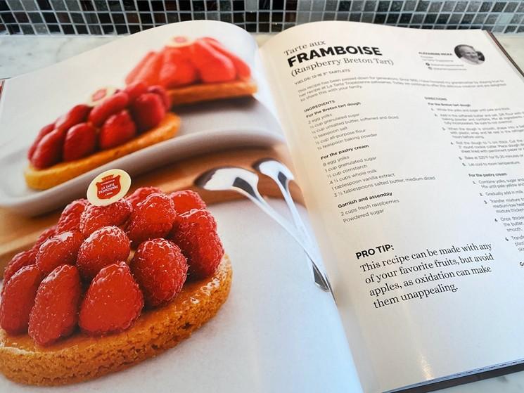 A recipe from La Tarte Tropézienne breaks down their Breton tart dough and pastry cream. - LAUREN DREWES DANIELS