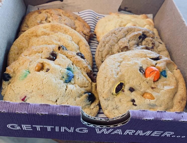 Insomnia Cookies delivers until 3 a.m. daily. - LAUREN DREWES DANIELS