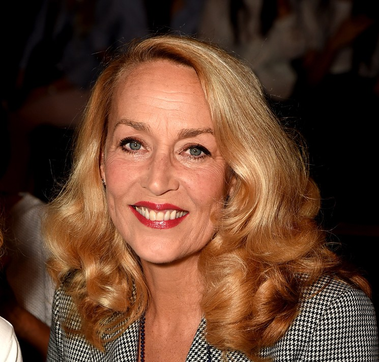 Jerry Hall was a powerhouse model who married some of the world's most powerful men. But she's also a Dallas gal. - THEO WARGO/GETTY