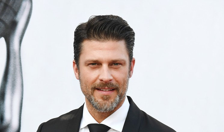 Greg Vaughan is a lucky man. He had successful modeling and acting careers and is engaged to fellow Dallas model Angie Harmon. - PARAS GRIFFIN/GETTY