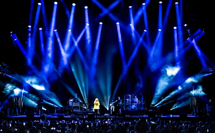 Alanis Morissette, Garbage and Cat Power drew a huge crowd on Friday night at Dos Equis Pavilion. - MIKE BROOKS