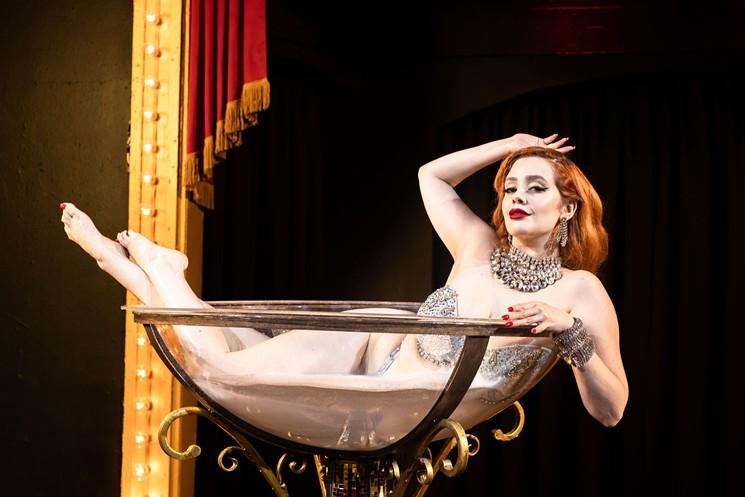Burlesque star Minxie Mimieux - KATHY TRAN