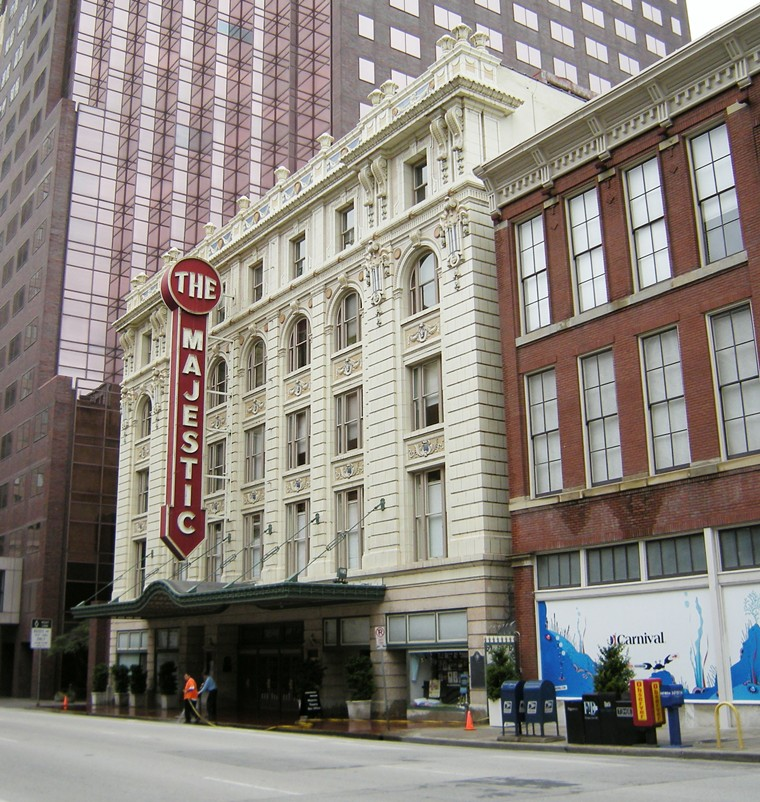 The Majestic Theatre celebrates 100 years with a free screening and live score of Charlie Chaplin's The Kid. - JOE MABEL