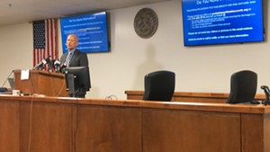 Over a year ago, the DA asked for the public's help gathering information about police misconduct during the protests last summer. - JACOB VAUGHN