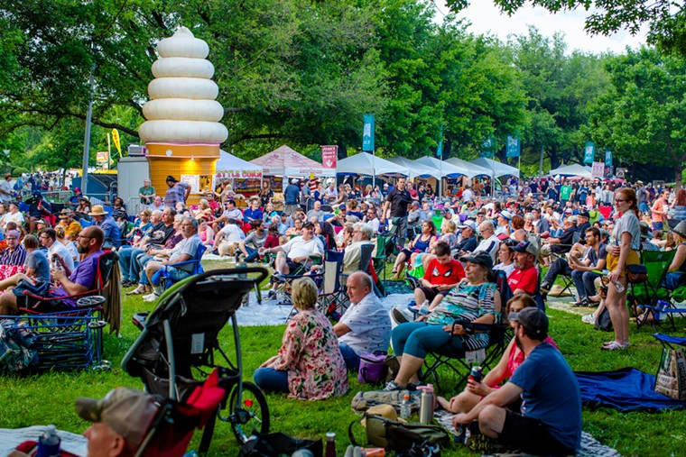 The Denton Arts and Jazz Festival is back this year after an 18-month hiatus. - ED STEELE