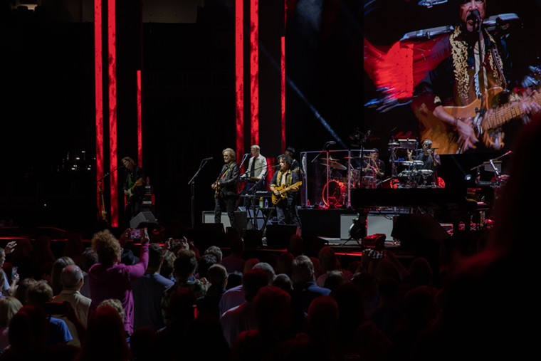 Hall & Oates brought their hits to Fort Worth on Tuesday. - ANDREW SHERMAN