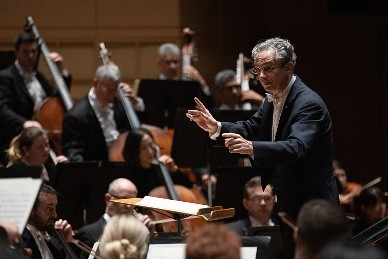 The DSO will play a live score this week to the film Philharmonia Fantastique: The Making of the Orchestra. - SYLVIA ELZAFON