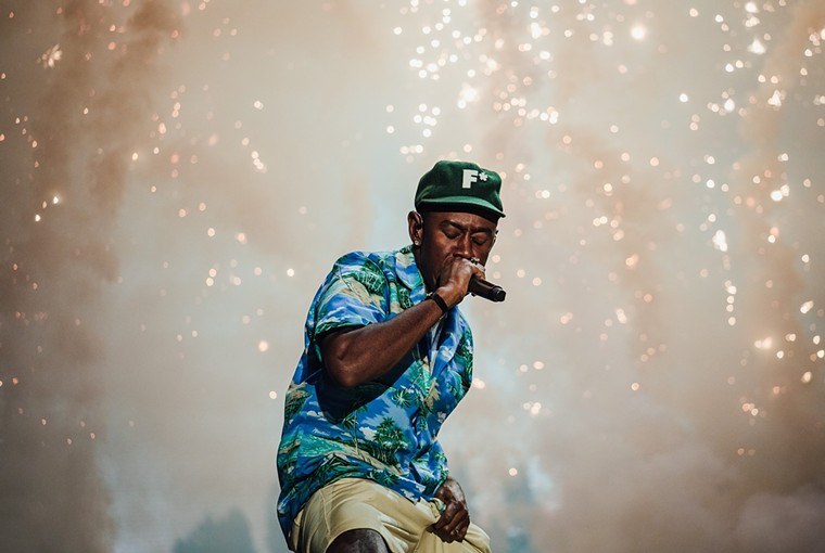 Tyler, the Creator replaced Da Baby and closed ACL. - RACHEL PARKER