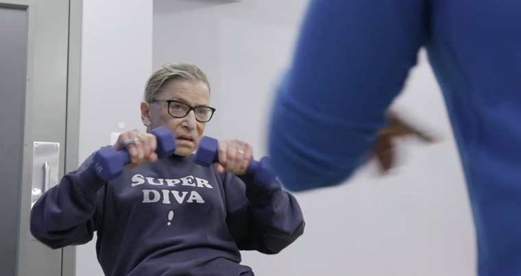 The Dallas Symphony Orchestra presents a tribute to Ruth Bader Ginsburg this week. - MAGNOLIA PICTURES