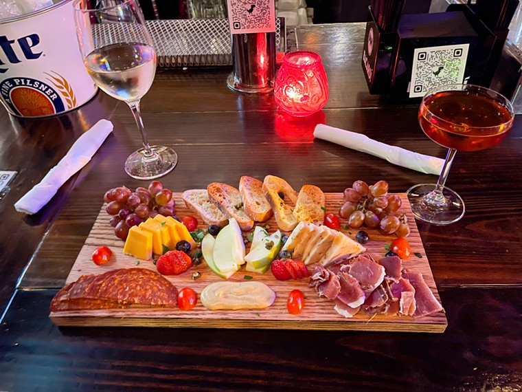 It's not just steaks; you can charcuterie too. - TAYLOR ADAMS