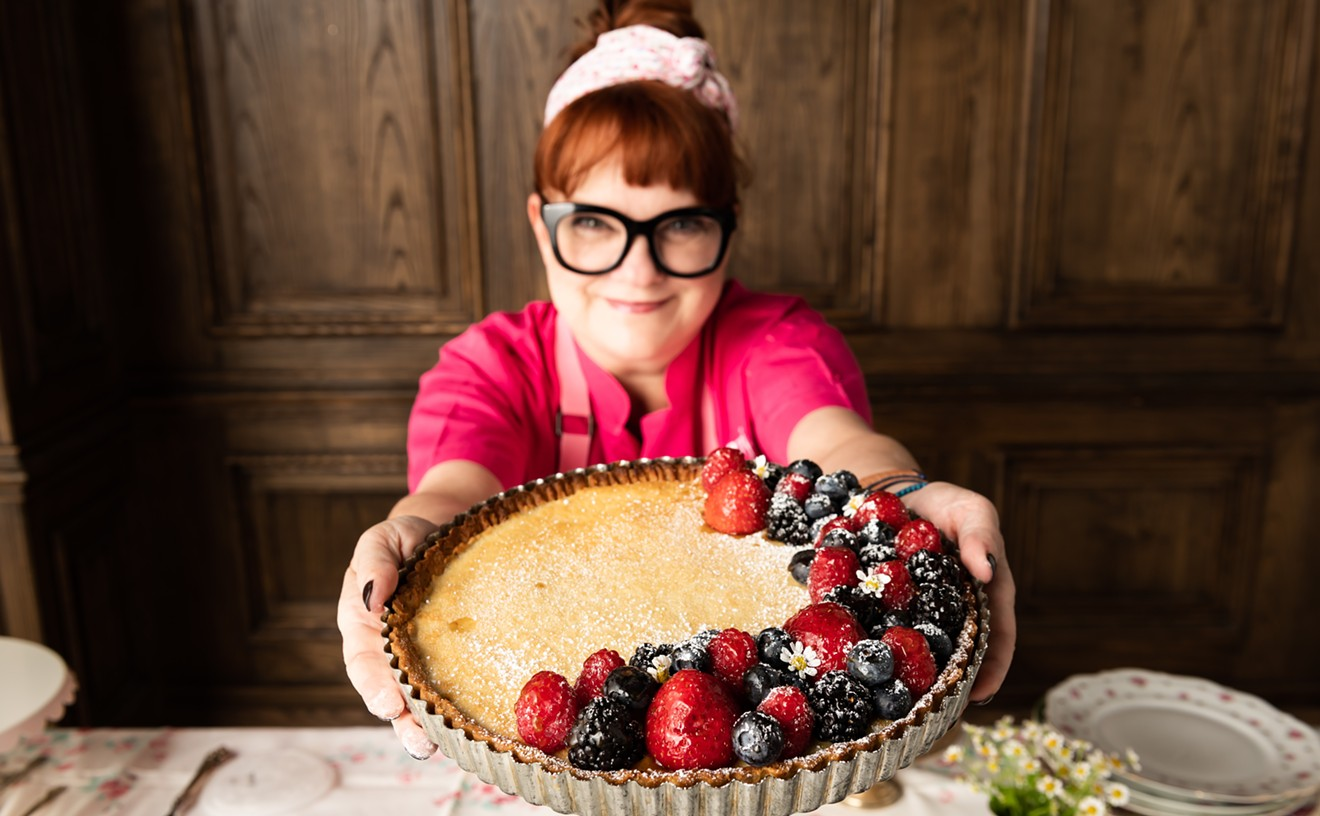 Chef Janice Provost of Parigi will be supplying pie for the PieHole Project.