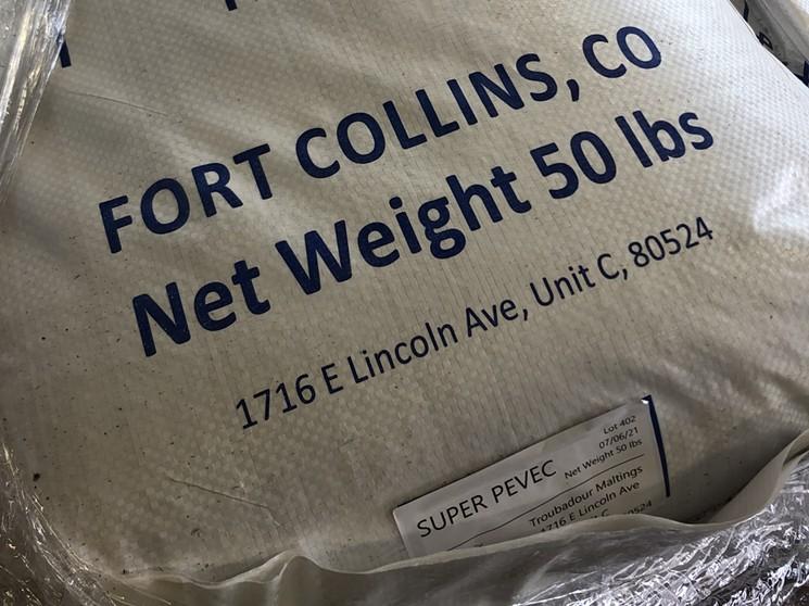 Cohesion uses custom-malted barley from Troubador Maltings. - SARAH COWELL