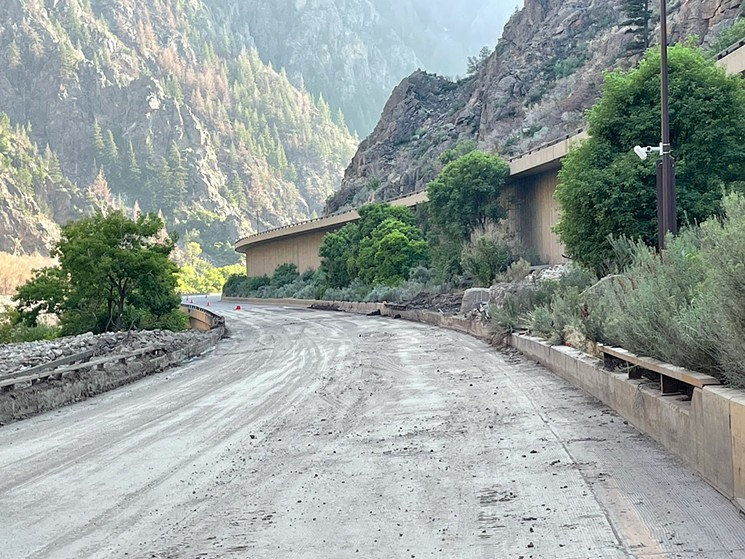 Repair work will continue on I-70 in Glenwood Canyon. - COURTESY OF CDOT