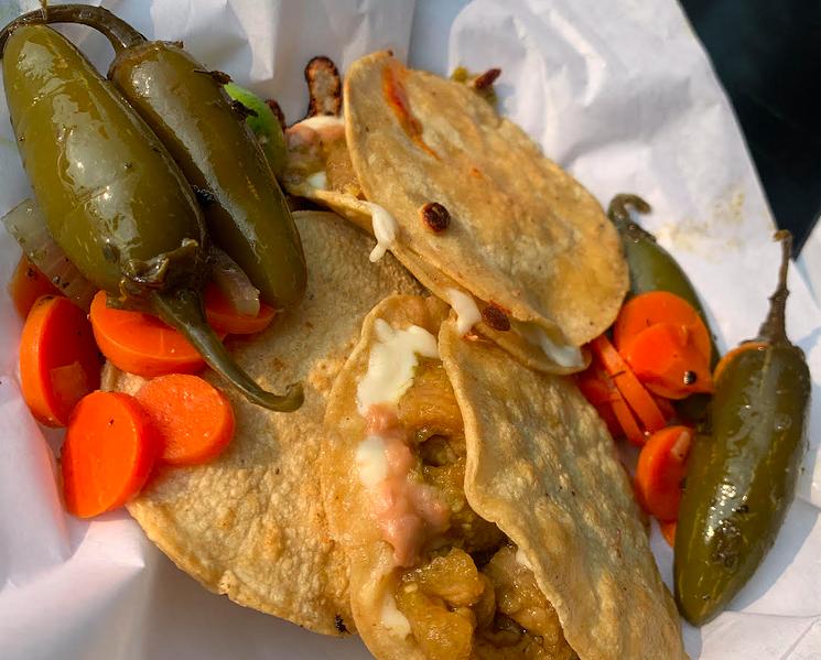 Cheap, satisfying Mexican flavors at La Villa Real. - KIP WILSON