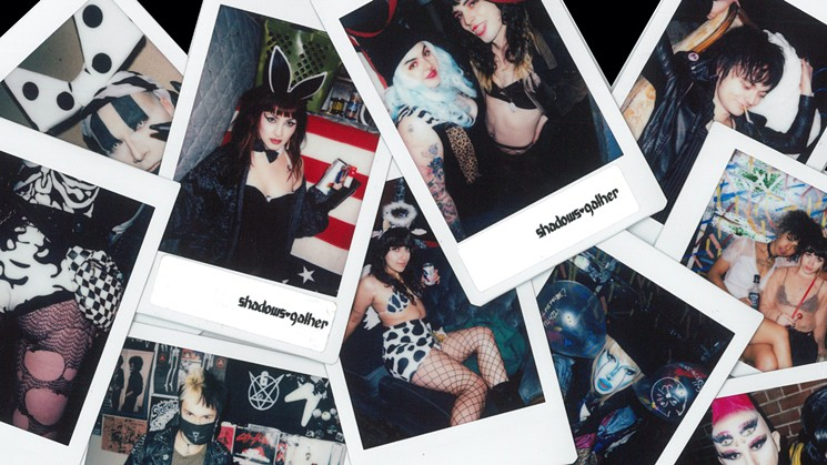 Images by Shadows Gather, scanned from Fuji Instax film format and printed on archival paper. - SHADOWS GATHER