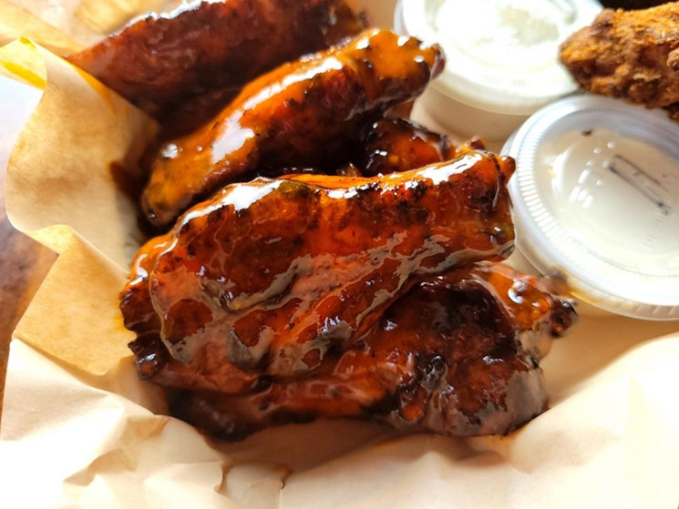 These wings from King of Wings are pretty perfect. - LINNEA COVINGTON