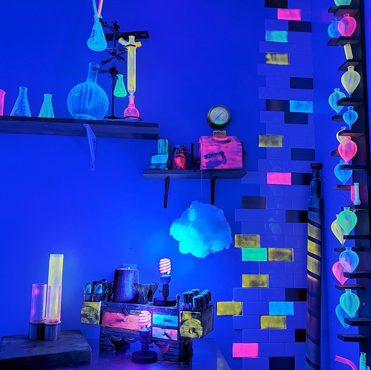 Glow-in-the-dark treats are definitely magical. - INVENTING ROOM