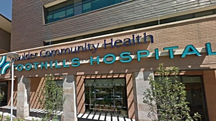 Outside Boulder Community Health Foothills Hospital. - GOOGLE MAPS