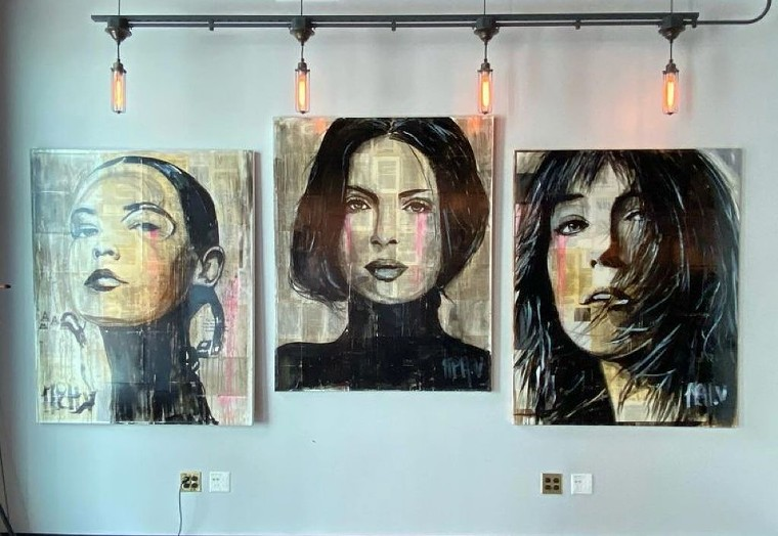 Portraits by Michel Velazquez for Brighter Than Love. - MICHEL VELAZQUEZ