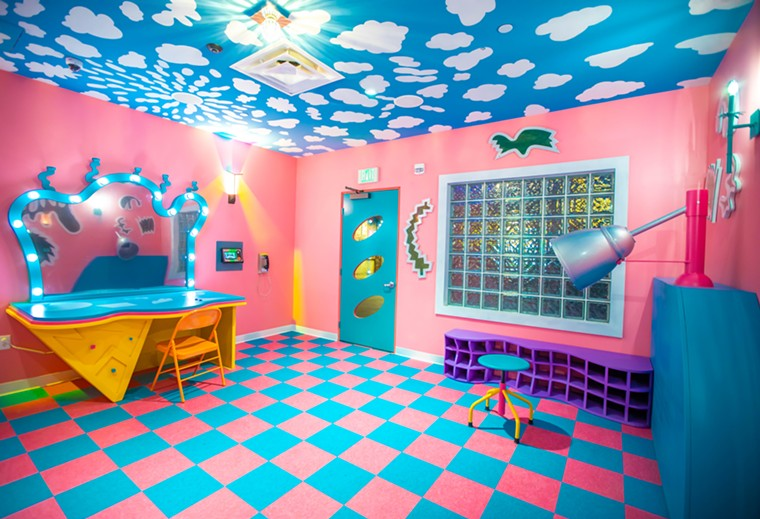 Just one of dozens of exhibits at Meow Wolf's Convergence Station. - KENNEDY COTTRELL