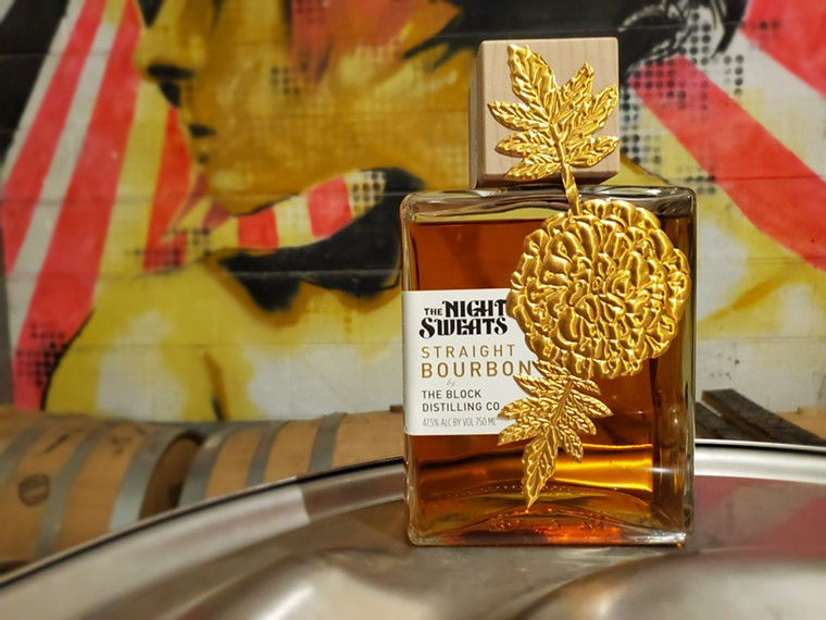 The Night Sweats Bourbon will go on pre-sale on September 18. - MOLLY MARTIN
