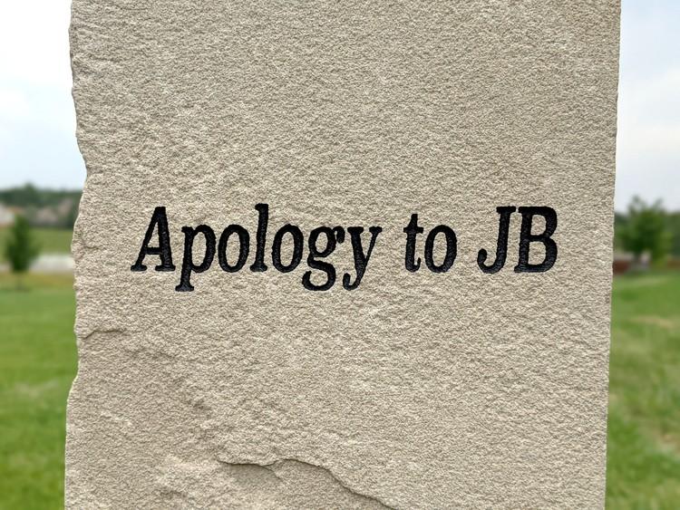 """""""Apology to JB,"""" by Nikki Pike. - NIKKI PIKE"""