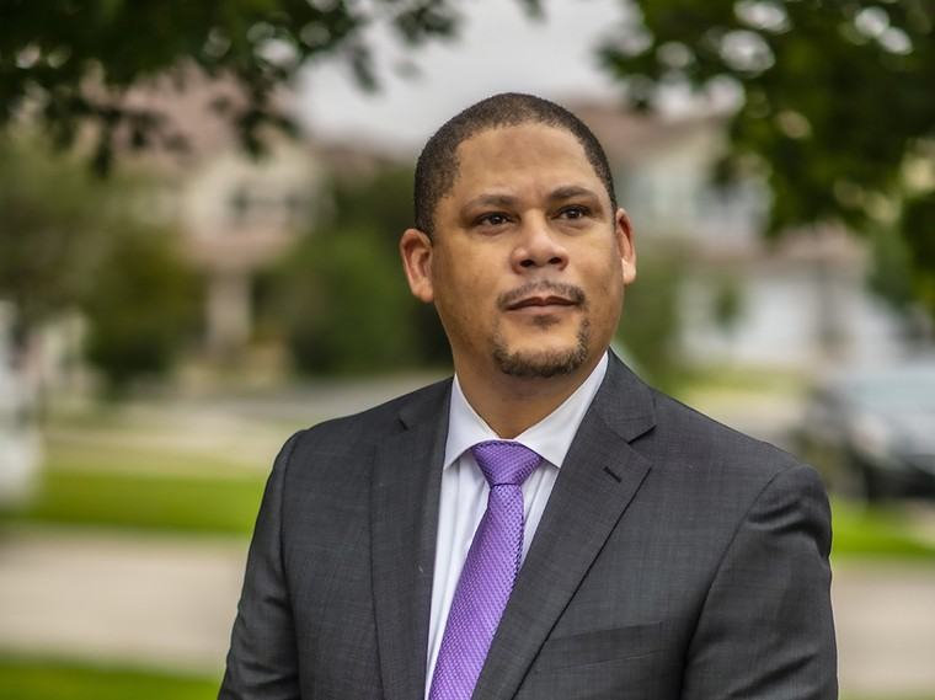 Robert Davis is the project coordinator for Denver's Reimagine Policing and Public Safety task force. - EVAN SEMÓN