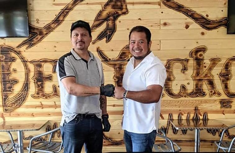 Cesar Munoz (left) and Juan Herrera of Dee Tacko. - DEE TACKO