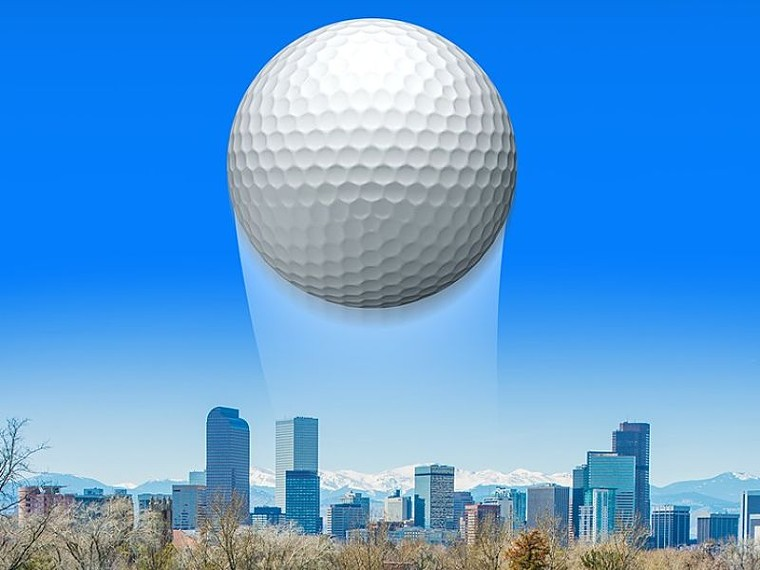 The auditor gave Denver Golf a good whack. - GETTY IMAGES/WESTWORD