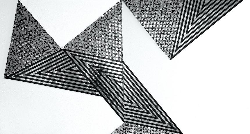 """""""Looking Down, Looking Up,"""" 2021 by Artnaut Annalee Schorr. - ANNALEE SCHORR"""