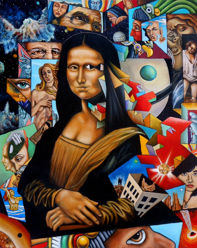 Painter Stevon Lucero is honored in CHAC's exhibition Denver Visual Artists and Their Legacy. - STEVEN LUCERO