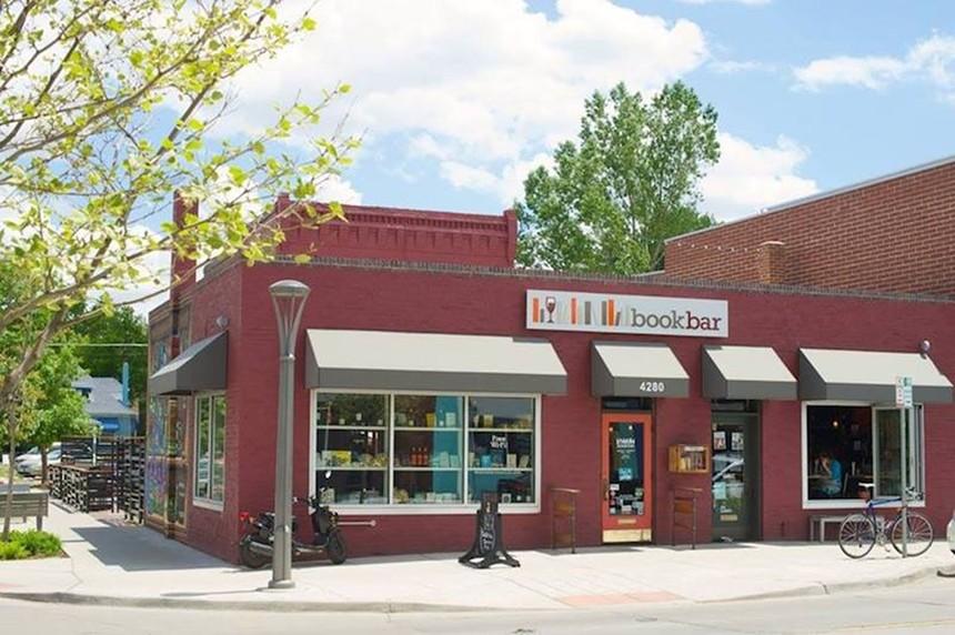 BookBar is a cozy spot on Tennyson Street. - BOOKBAR