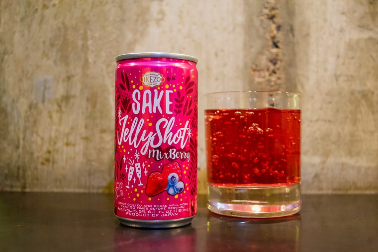 This sparkling jelly is now on the menu at Osaka Ramen.  - Osaka Ramen/Annie Dent