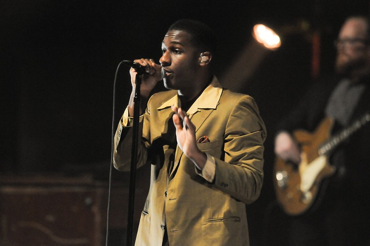 Leon Bridges is at the Mission Ballroom tonight and at Red Rocks on Wednesday. - MILES CHRISINGER