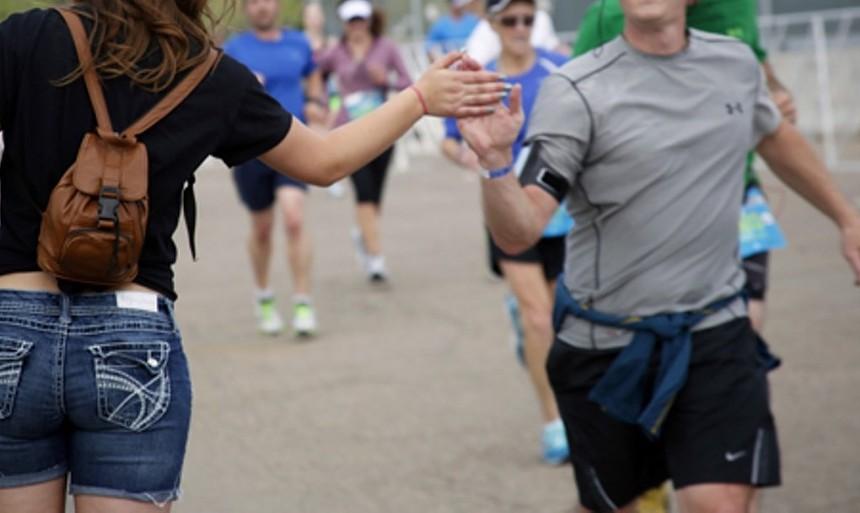 The Boulderthon takes place October 10. - DANIELLE LIRETTE