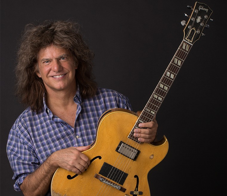 Pat Metheny performs at the Paramount Theatre on Saturday with his new trio, Side-Eye. - SHOREFIRE MEDIA