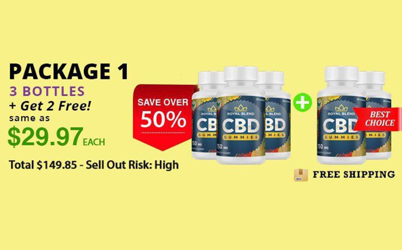 Royal Blend CBD Gummies Legit Buy OR Side Effects - Worth Price Reviews