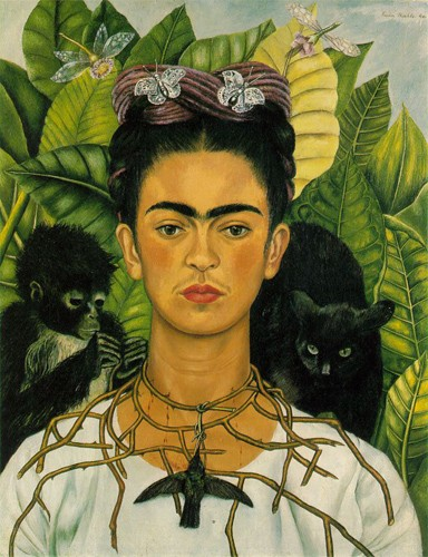 """Frida Kahlo (self portrait)."" - WIKIPEDIA"