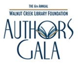 WALNUT CREEK LIBRARY FOUNDATION - 6th Annual Authors Gala, Walnut Creek Library Foundation