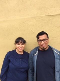 Elizabeth Tinajero (left) and Jose Ramos. - LEÓN