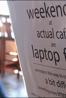 A Cup of Coffee With Your Wi-Fi?